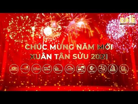 Clip chúc tết hệ thống: Phú Đông Group