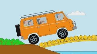 Мультфильм для детей про машинки - Пазл - Вездеходы - Часть 2 - серия 9