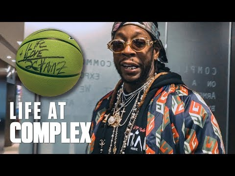 2 CHAINZ SAID HE WOULD SCHOOL ME IN BASKETBALL | #LIFEATCOMPLEX