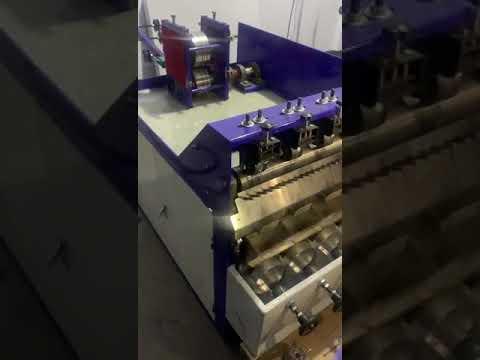 Letest Steel Scrubber Making Machine