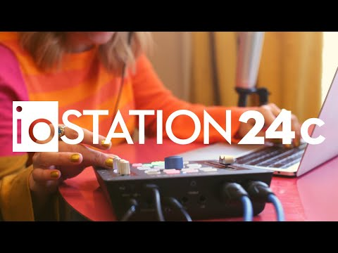 ה-ioStation 24c משלב ממשק אודיו ושלט הפקה מ-PreSonus
