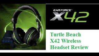 turtle beach x42 headset hook up