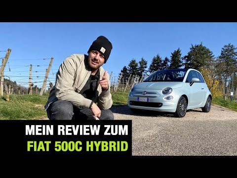 "2020 Fiat 500 C Hybrid ""Launch Edition"" (70 PS)💧🔋 MHEV - Cabrio - Fahrbericht 