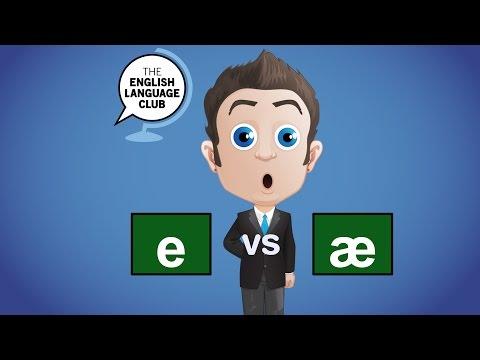 /e/ Phoneme vs /ae/ Phoneme