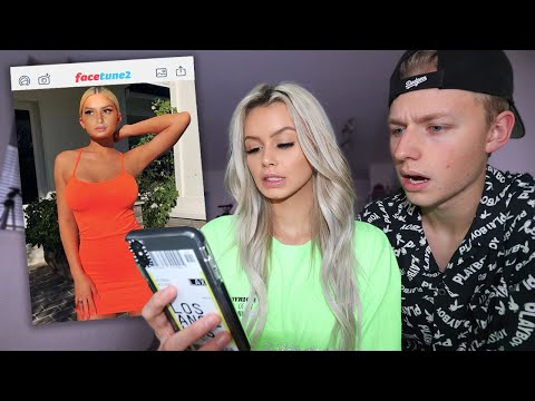 I PHOTOSHOPPED my face onto KYLIE JENNER'S BODY to see how my BOYFRIEND reacts..