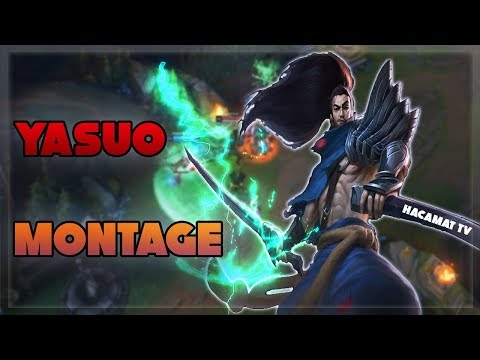 YASUO MONTAGE - Best Yasuo Plays 2019 - League of Legends - #1