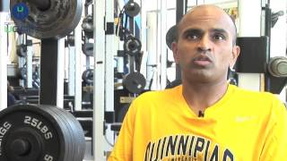 Quinnipiac University Strength Coach Talks UCAN