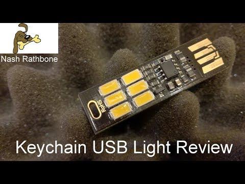 Keychain USB Light Review