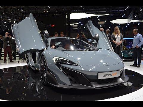 McLaren 675LT - 2015 Geneva Motor Show