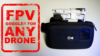 FPV GOGGLE HACK FOR ANY DRONE - MagiMask VR Goggles review - Mini 2- Mavic Air 2S