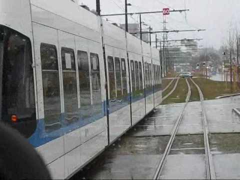Rainy Saturday on the Glattalbahn, Zurich