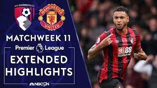 Bournemouth v. Manchester United | PREMIER LEAGUE HIGHLIGHTS | 11/02/19 | NBC Sports