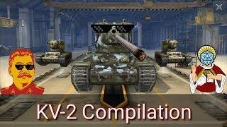 Return of the KV-2!!! (KV-2 Compilation #11) - WoT Blitz