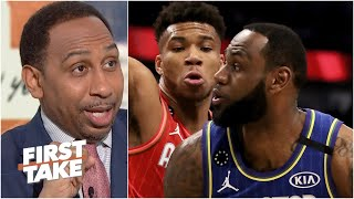 2020 NBA All-Star Game highlights: https://youtu.be/KbjP3iSQUMo  Stephen A. Smith, Max Kellerman and Doris Burke react to the 2020 NBA All-Star Game and delight in the ways that the new format honored Kobe Bryant's competitive spirit. #FirstTake #NBA  ✔ Subscribe to ESPN+ https://plus.espn.com/ ✔ Get the ESPN App: http://www.espn.com/espn/apps/espn ✔ Subscribe to ESPN on YouTube: http://es.pn/SUBSCRIBEtoYOUTUBE ✔ Subscribe to ESPN FC on YouTube: http://bit.ly/SUBSCRIBEtoESPNFC ✔ Subscribe to NBA on ESPN on YouTube: http://bit.ly/SUBSCRIBEtoNBAonESPN ✔ Watch ESPN on YouTube TV: http://es.pn/YouTubeTV  Exclusive interviews with Rachel Nichols https://urlzs.com/jNURe Stephen A. Smith on ESPN https://urlzs.com/W19Tz  ESPN on Social Media: ► Follow on Twitter: http://www.twitter.com/espn ► Like on Facebook: http://www.facebook.com/espn ► Follow on Instagram: www.instagram.com/f/espn  Visit ESPN on YouTube to get up-to-the-minute sports news coverage, scores, highlights and commentary for NFL, NHL, MLB, NBA, College Football, NCAA Basketball, soccer and more.   More on ESPN.com: https://www.espn.com
