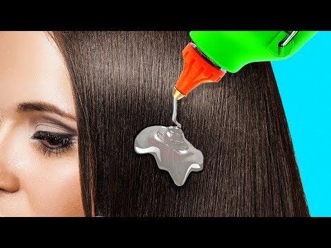 20 truques simples de cabelos