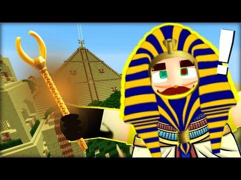 Exotický Ahoj Sousede v Minecraftu ! Pyramida PLNÁ ZLATA !!!