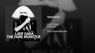 Lady Gaga   Telephone Ft. Beyoncé (Audio)