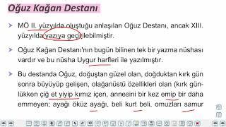 Eğitim Vadisi 10.Sınıf TDE 13.Föy Destan, Efsane, İslamiyet Öncesi Türk Destanları Konu Anlatım Videoları