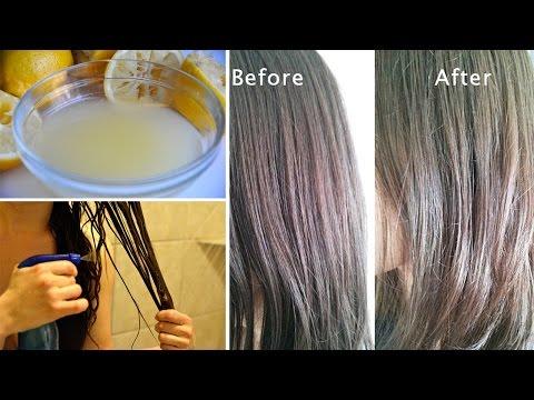 Die Maske für die Beseitigung des Gelbes des Haares