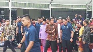 Hadiri Kongres Kebudayaan Indonesia 2018, Jokowi Jadi Rebutan Selfie