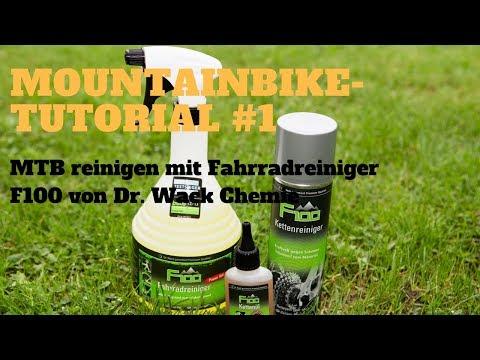 F100 Fahrradreiniger | Dr. Wack Chemie | Mountainbike-Tutorial #1