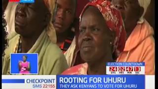 Kenneth Lusaka : Vote for Uhuru Kenyatta