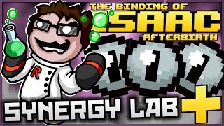 The Binding of Isaac: Afterbirth+ - Synergy Lab: ULTIMATE TECHNOLOGY 0 PORTAL!