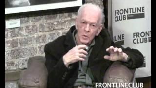 Gene Sharp speaks at the Frontline Club