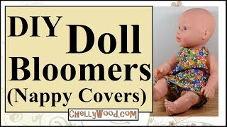 Free Doll Clothes Patterns: Baby Doll Bloomers