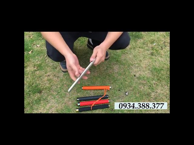 Cách sử dụng gậy ba khúc - Đóng mở baton cơ bản