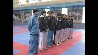 Сборная Южной Кореи по тхэквондо провела первую тренировку в Челябинске