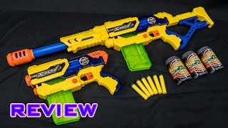 [REVIEW] X-Shot Max Attack & Hurricane Unboxing, Review, & Firing Demo