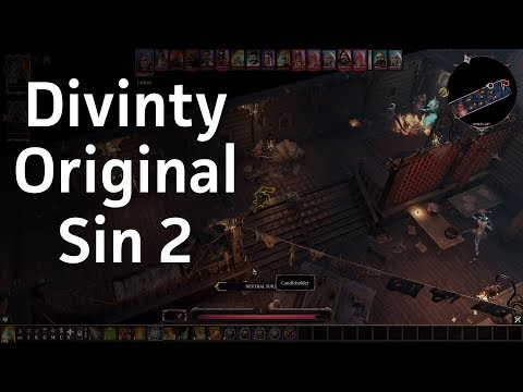 Divinity Original Sin 2 first mission gameplay | Let's Play