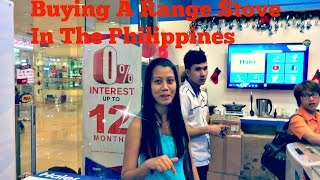 Buying A Stove Range In The Philippines