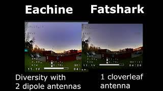 DVR comparison - Fatshark vs Eachine monitor