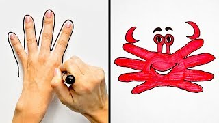 24 DRAWING TRICKS FOR KIDS