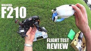 WALKERA F210 FPV Race Drone Review - Part 2 - [Flight Test]