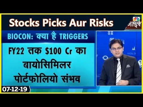 देखिये शेयर जिनमें है अच्छे रिटर्न की गुंजाइश   STOCKS PICKS AUR RISK
