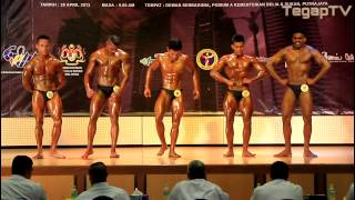 preview picture of video 'Mr Putrajaya 2013: Junior Below 70kg (Posedown)'