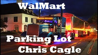 Some of the beautiful Kenworth Trucks- Wal-Mart Parking Lot (Chris Cagle)