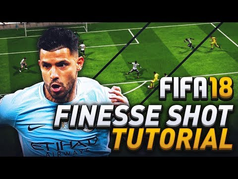 FIFA 18 SHOOTING TUTORIAL! HOW TO SCORE FROM OUTSIDE THE BOX with FINESSE SHOTS!