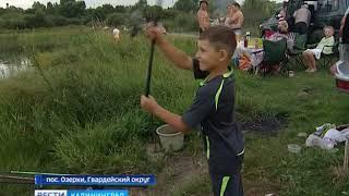 Соревнования по рыбной ловле в калининградской области