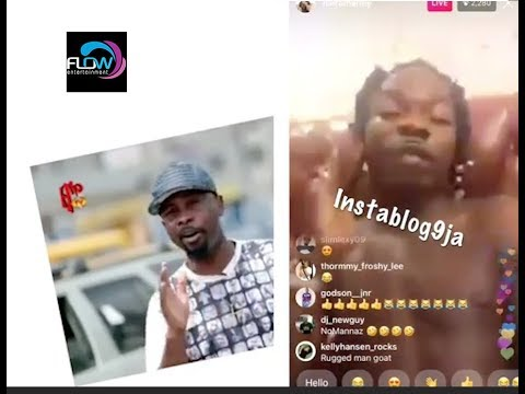 NAIRAMARLEY REACTS TO RUGGEDMAN CALLING HIM A FRAUDSTER UPCOMING ARTISTE !
