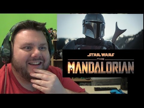 The Mandalorian Official Trailer Star Wars Reaction Review