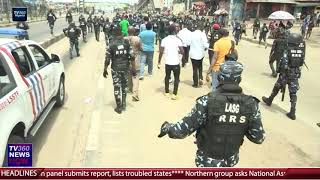 DEMOCRACY DAY: Police disperse JUNE 12 protests in Ojota, Lagos