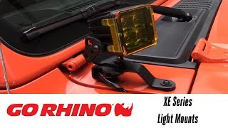 In the Garage™ with Total Truck Centers™: Go Rhino XE Series Light Mounts