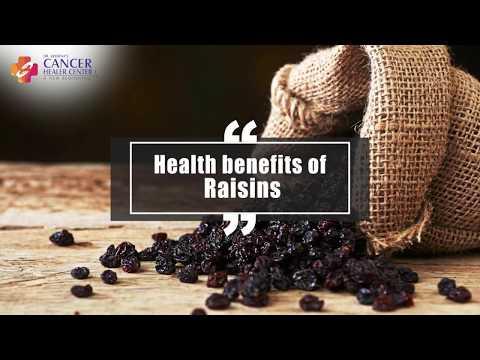 Health Benefits of Raisins - Cancer Healer Center