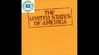 THE UNITED STATES OF AMERICA - HARD COMING LOVE - The United States Of America (1968) :: SOTW #50