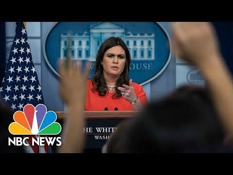 White House Press Briefing – November 30, 2017 | NBC News