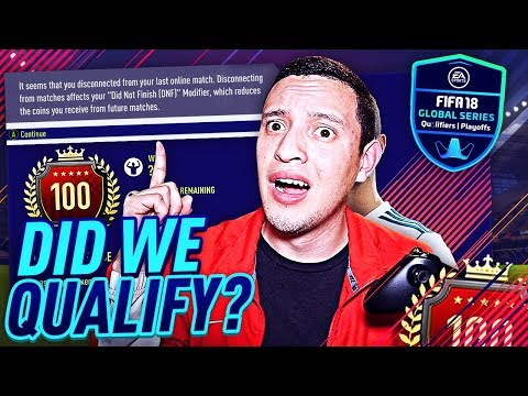 DID WE QUALIFY FOR THE FIFA GLOBAL SERIES!? TOP 100 MONTHLY GAMEPLAY!   FIFA 18 ULTIMATE TEAM